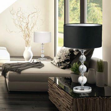 Rea Lampa modern classic – Styl modern classic – kolor biały, transparentny
