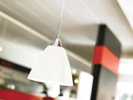 Read Lampa wisząca – Styl nowoczesny – kolor biały