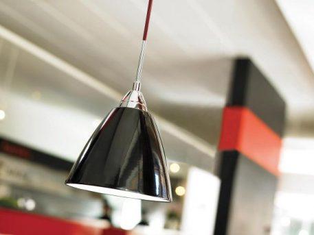 Read Lampa wisząca – Styl nowoczesny – kolor Czarny