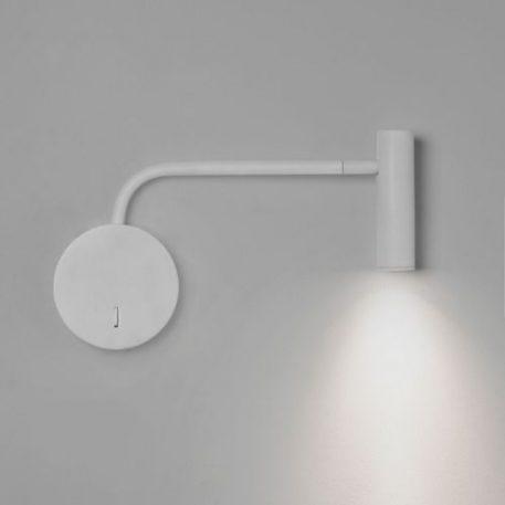 Reflektor Do czytania biały  - Sypialnia