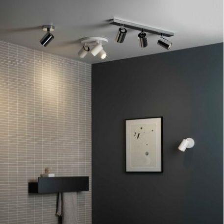 Reflektor Styl nowoczesny biały  - Sypialnia