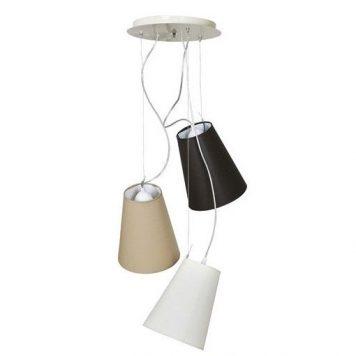 Retto  Lampa wisząca – Styl nowoczesny – kolor beżowy, brązowy