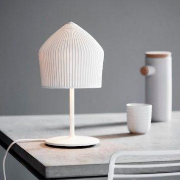 Reykjavik  Lampa nowoczesna – Ceramiczne – kolor biały