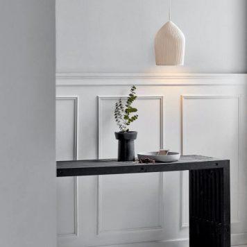 Reykjavik Lampa wisząca – Styl skandynawski – kolor biały