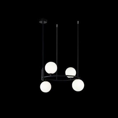 Ring  Żyrandol – Styl nowoczesny – kolor Czarny