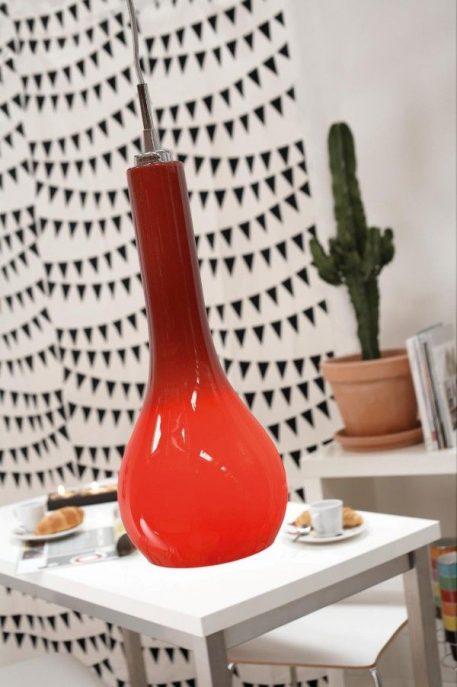 Ripasso 15 Lampa wisząca – szklane – kolor Czerwony