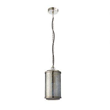 Risley Lampa wisząca – industrialny – kolor srebrny