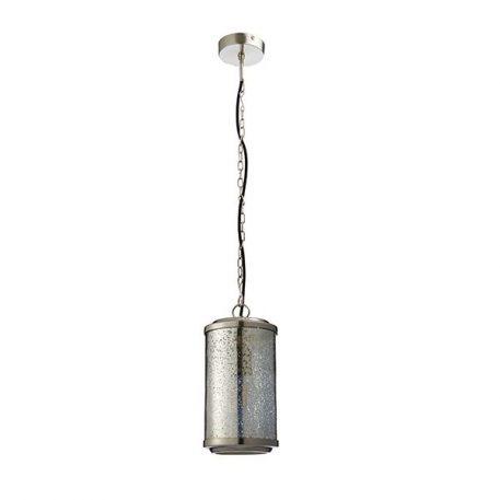 Risley Lampa wisząca – szklane – kolor srebrny
