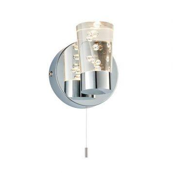 Rocco  Lampa nowoczesna – Styl nowoczesny – kolor srebrny, transparentny