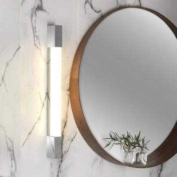 Romano Lampa nowoczesna – szklane – kolor biały, srebrny