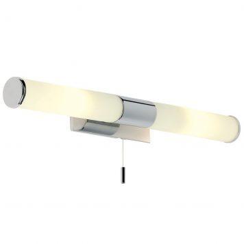 Romford  Lampa klasyczna – szklane – kolor biały, srebrny