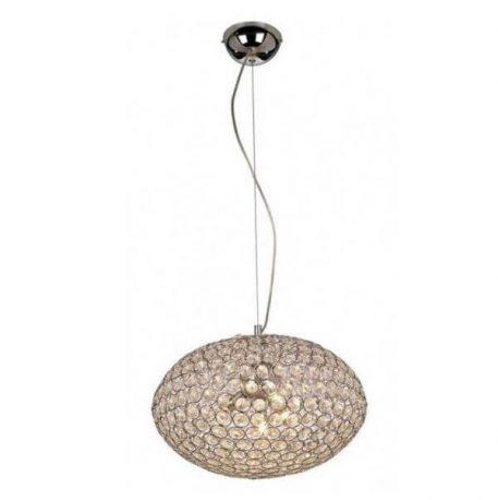 Rosa  Lampa wisząca – Styl nowoczesny – kolor srebrny