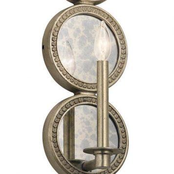 Rosalie Lampa klasyczna – klasyczny – kolor srebrny, złoty