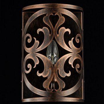 Rustika Lampa klasyczna – klasyczny – kolor brązowy