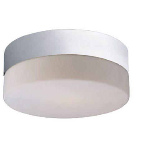 Sade  Lampa sufitowa – Styl nowoczesny – kolor biały, połysk, srebrny