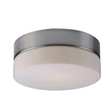 Sade  Lampa sufitowa – Styl nowoczesny – kolor biały, srebrny