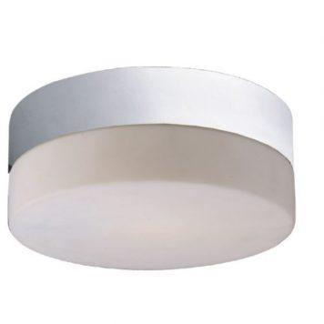 Sade  Lampa sufitowa – szklane – kolor biały, połysk, srebrny