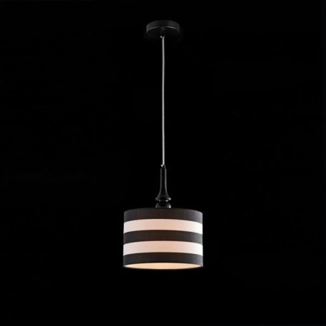Sailor  Lampa wisząca – Z abażurem – kolor biały, Czarny