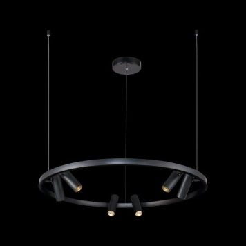 Satellite  Żyrandol – Styl nowoczesny – kolor Czarny