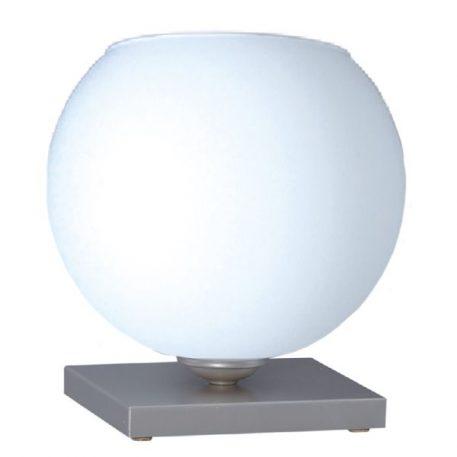 Satin  Lampa nowoczesna – szklane – kolor biały, srebrny
