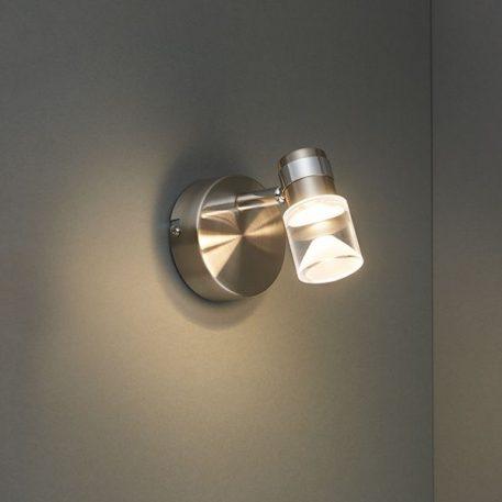 Saturn  Lampa nowoczesna – Do czytania – kolor srebrny