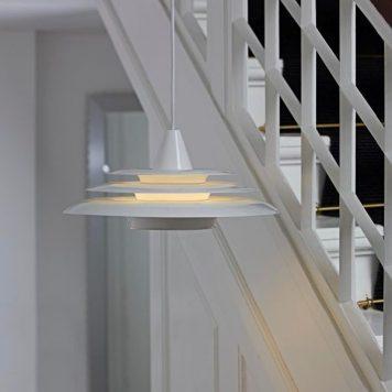 Saturn Lampa wisząca – Styl nowoczesny – kolor biały