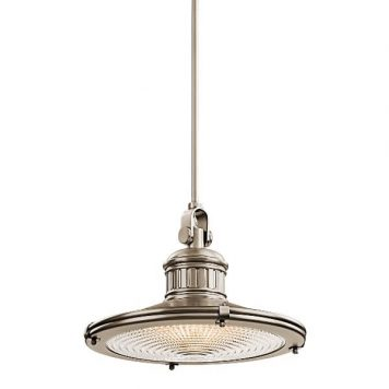 Sayre Lampa wisząca – industrialny – kolor srebrny