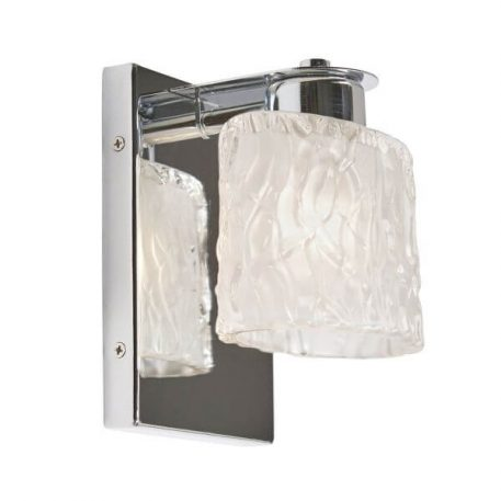 Seaview Lampa nowoczesna – szklane – kolor srebrny
