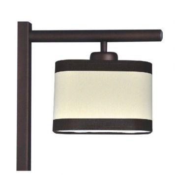 Selene Lampa klasyczna – Z abażurem – kolor beżowy, brązowy