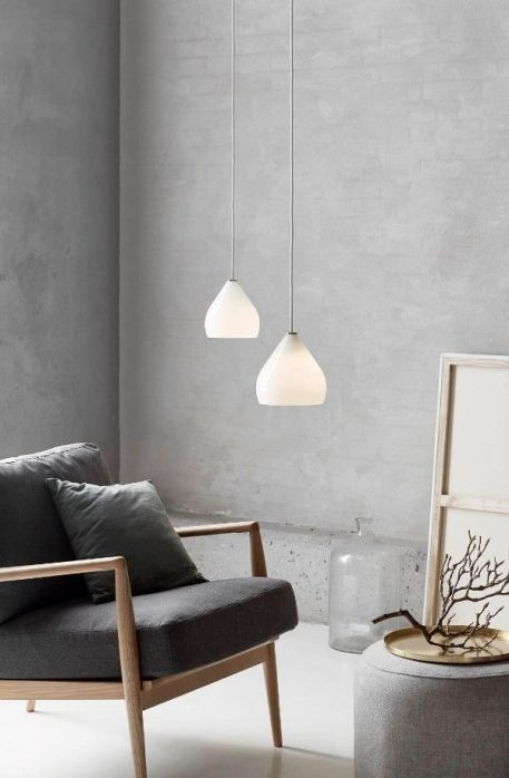 Sence 16  Lampa wisząca – szklane – kolor biały