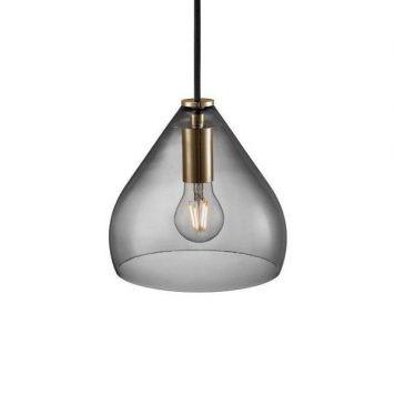 Sence 16  Lampa wisząca – szklane – kolor transparentny, Szary