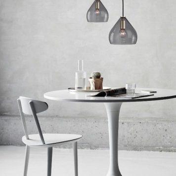 Sence 21 Lampa wisząca – Styl nowoczesny – kolor transparentny, Szary