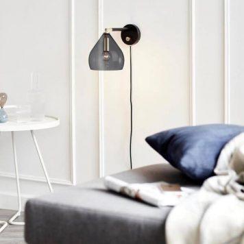 Sence Lampa skandynawska – Styl nowoczesny – kolor złoty, Czarny