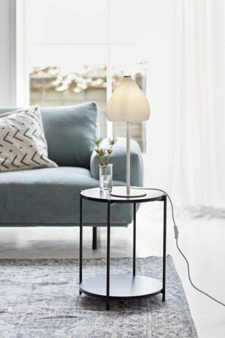 Sence  Lampa stołowa – Styl skandynawski – kolor biały