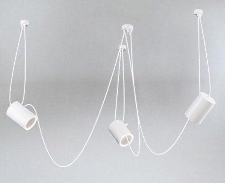 Sento Lampa wisząca – Styl nowoczesny – kolor biały