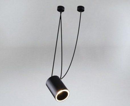 Sento Lampa wisząca – Styl nowoczesny – kolor Czarny