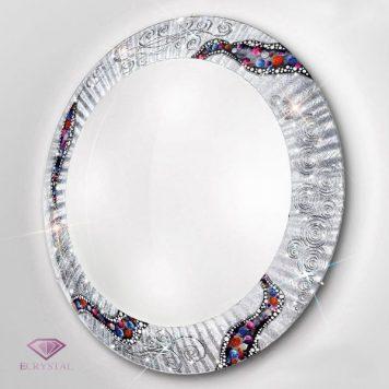 Serena Lampa sufitowa – Plafony – kolor biały, srebrny