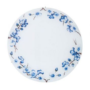 Serena Plafon – szklane – kolor biały, Niebieski