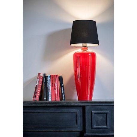 Sevilla  Lampa nowoczesna – Styl modern classic – kolor Czarny, Czerwony