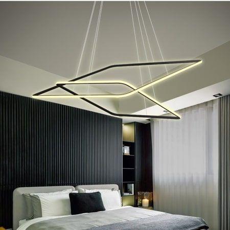 Shape  Lampa wisząca – Lampy i oświetlenie LED – kolor Czarny