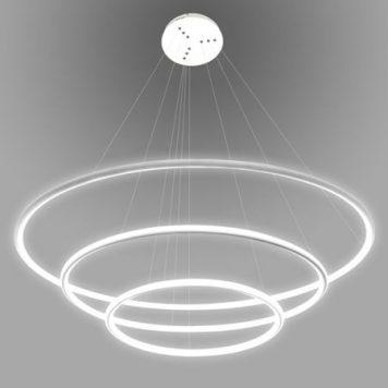 Shape  Lampa wisząca – Styl nowoczesny – kolor biały