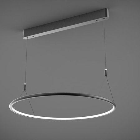 Shape Lampa wisząca – Styl nowoczesny – kolor Czarny