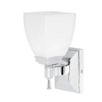 Shirebrook Lampa klasyczna – klasyczny – kolor biały, srebrny