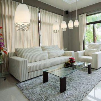 Sila Lampa wisząca – Styl nowoczesny – kolor biały