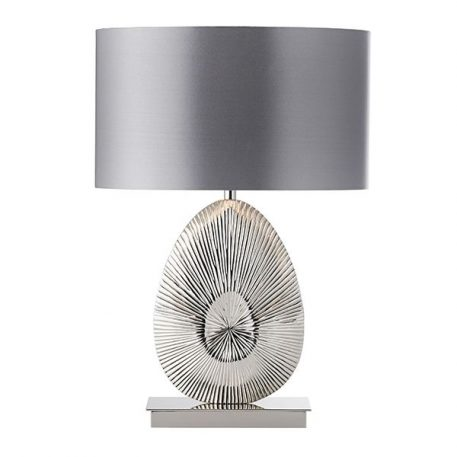 Simeto  Lampa nowoczesna – Styl nowoczesny – kolor srebrny, Szary