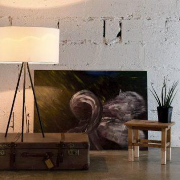 Simple  Lampa skandynawska – Styl nowoczesny – kolor biały