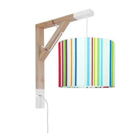Simple Lampa skandynawska – Z abażurem – kolor Czerwony, Niebieski, Zielony