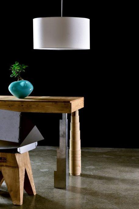 Simple  Lampa wisząca – Styl skandynawski – kolor biały