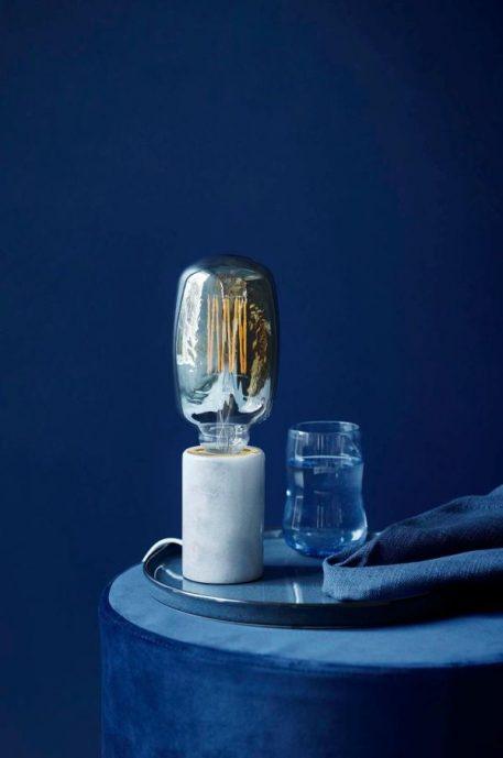 Siv Lampa nowoczesna – industrialny – kolor biały