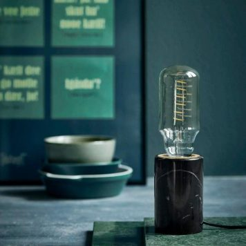 Siv  Lampa stołowa – Styl nowoczesny – kolor Czarny